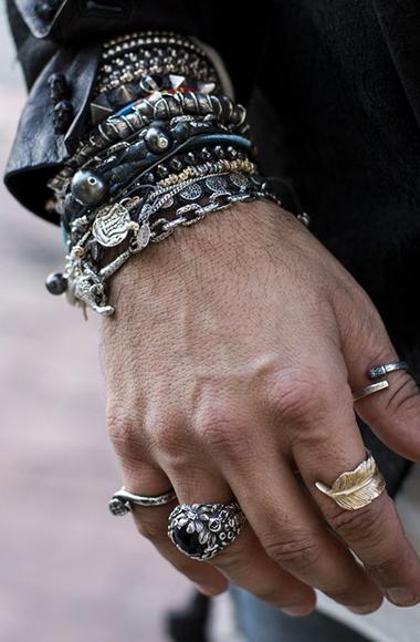 brera 67 bracciali collane anelli uomo pelle acciaio